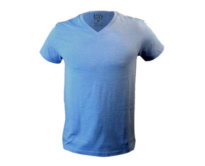 חולצת צווארון V סמוד