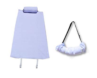 מגבת חוף עם כרית