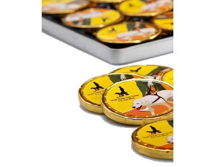 מטבעות שוקולד ממותגים