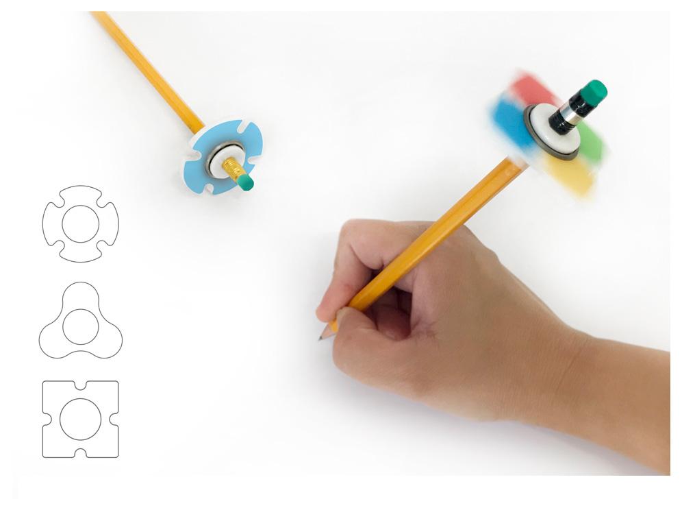 מיני ספינר לעיפרון