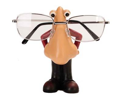 מעמד משקפיים אף ענק