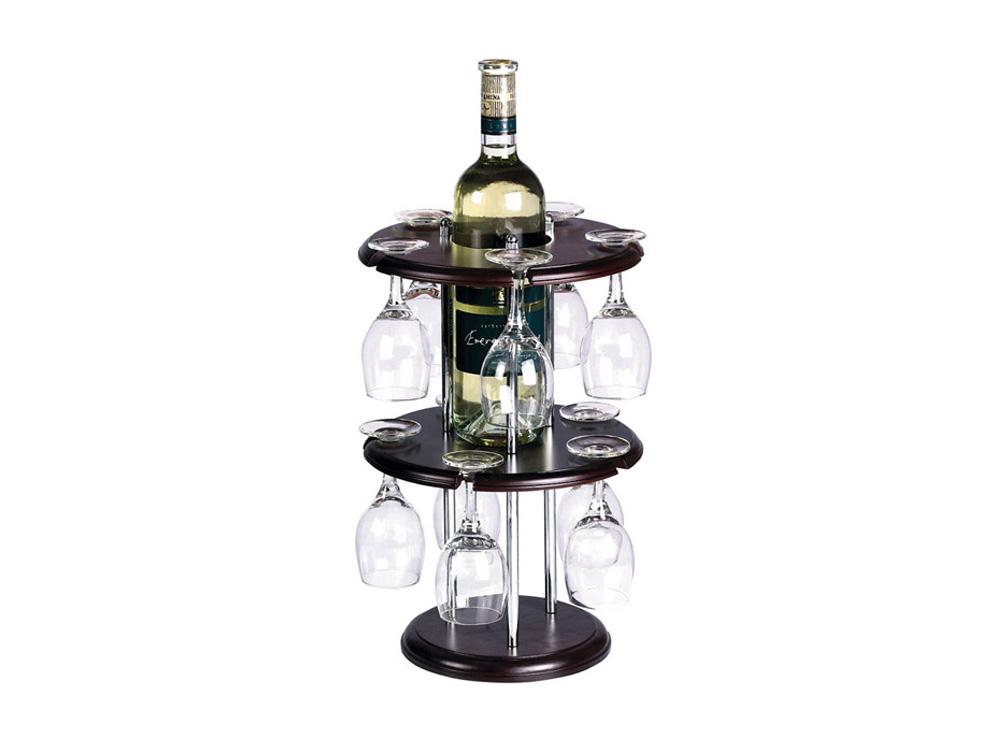 מעמד שולחני 10 כוסות יין