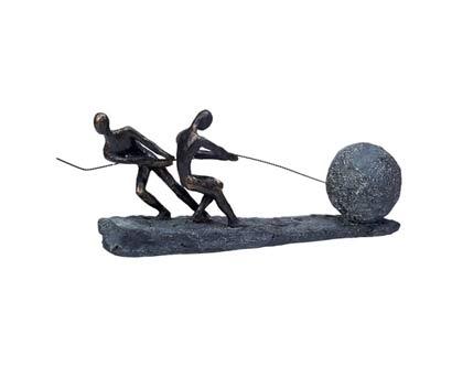פסל מעוצב איחוד כוחות