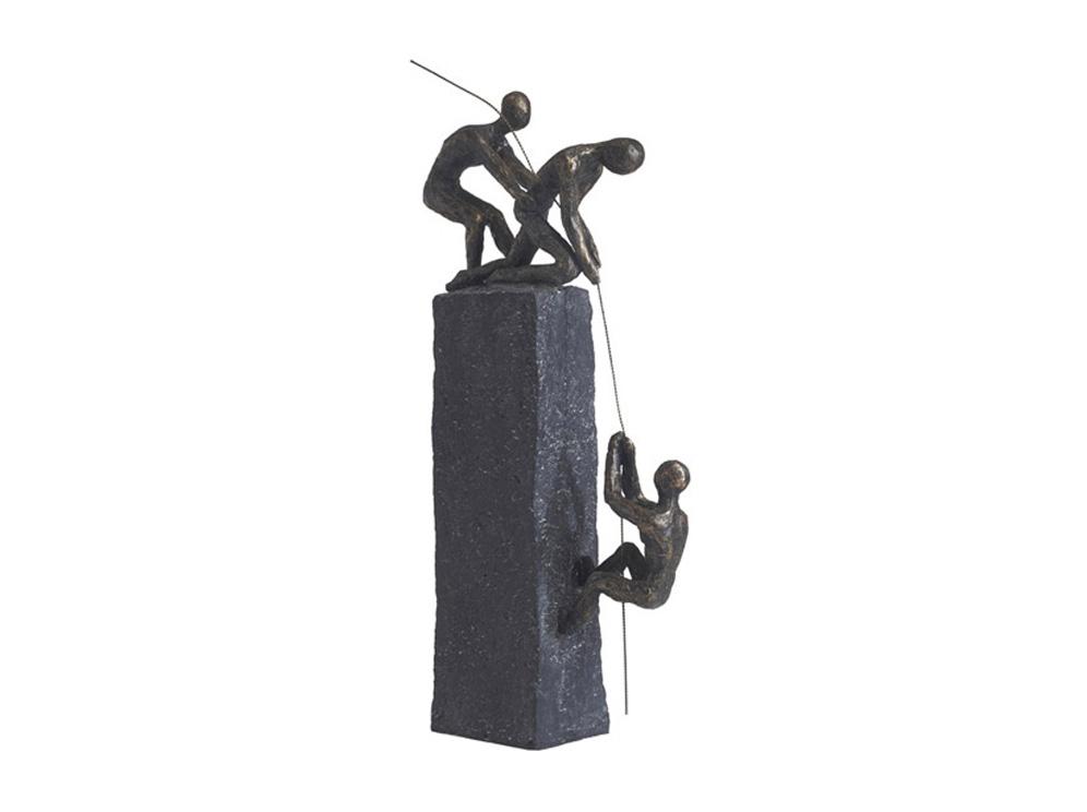 פסל מעוצב ביחד לפיסגה