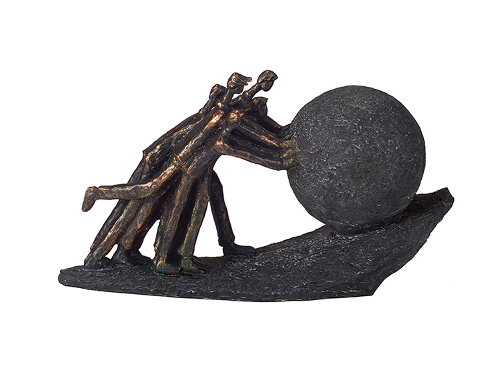 פסל מעוצב עבודת צוות