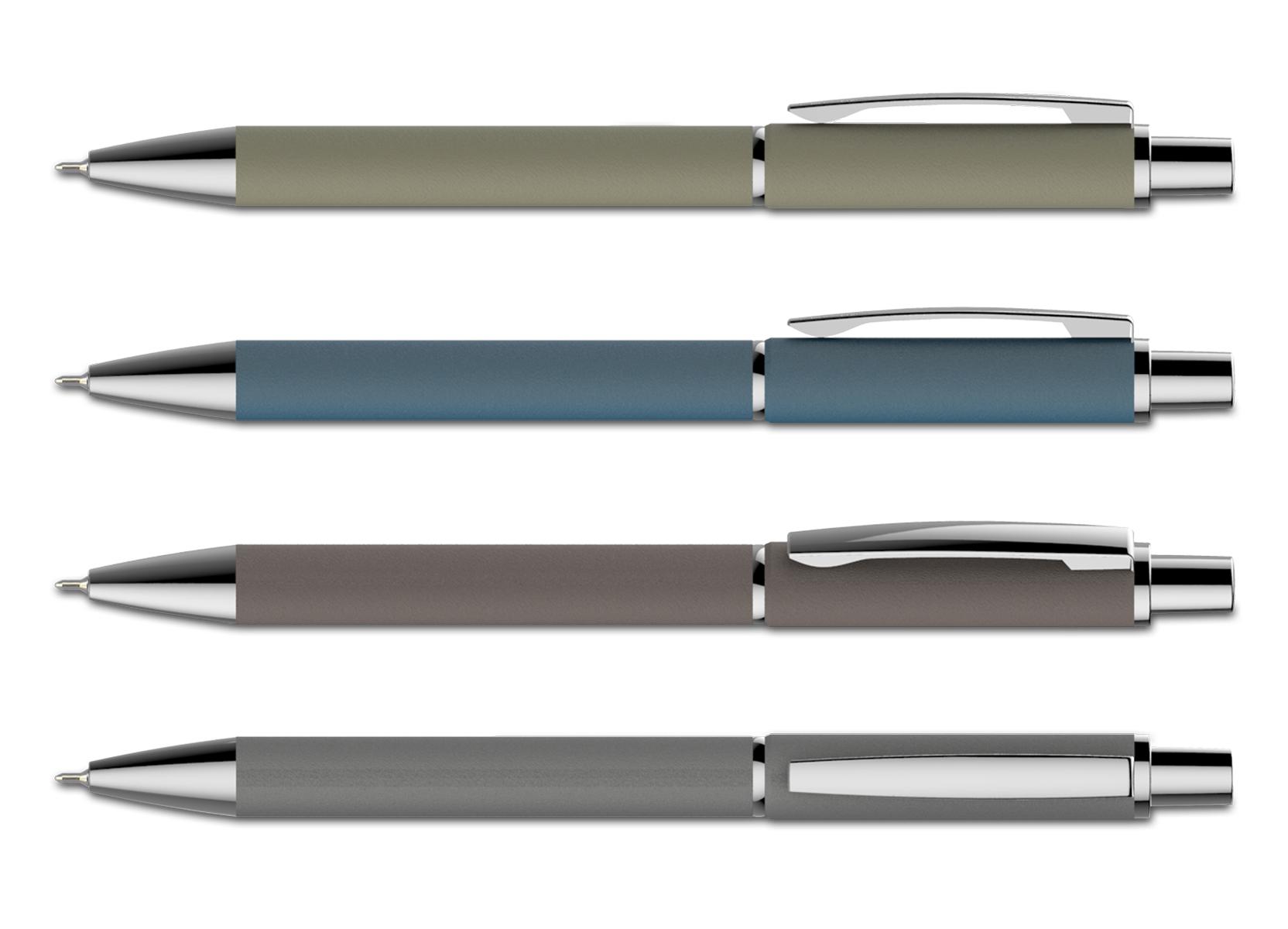 עט מתכת חוד ג'ל