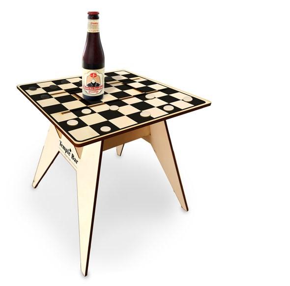 שולחן חוף דמקה