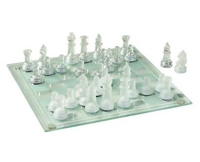 שחמט זכוכית יוקרתי