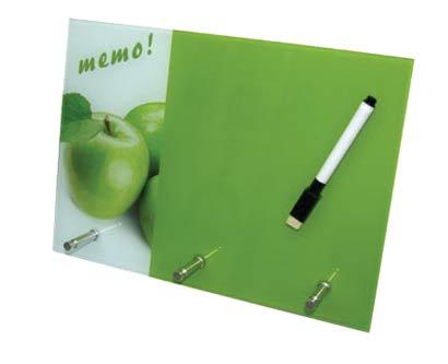 לוח ממו מחיק תפוח
