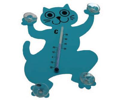מד טמפרטורה בצורת חתול