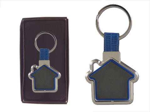 מחזיק מפתחות בית מסתובב