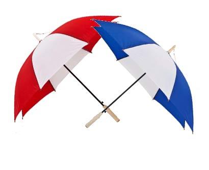מטריה 23 אינץ ידית עץ