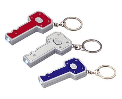 מחזיק מפתחות פנס בצורת מפתח