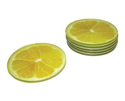 סט 6 תחתיות לימון