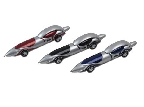 עט כדורי בצורת מכונית