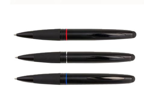 עט מתכת עם כרית טאץ'