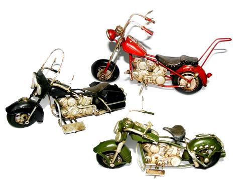 פסל אופנוע הארלי