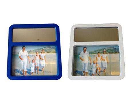 מסגרת שולחנית לתמונה עם מראה