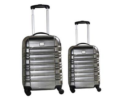 סט 2 מזוודות טרולי
