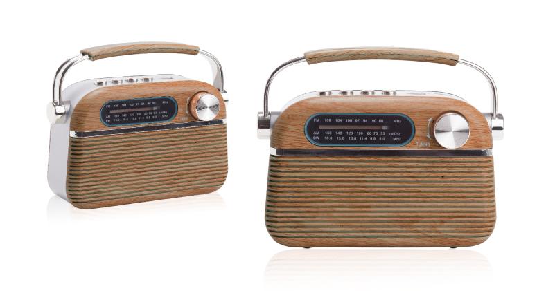 רמקול רטרו משולב רדיו