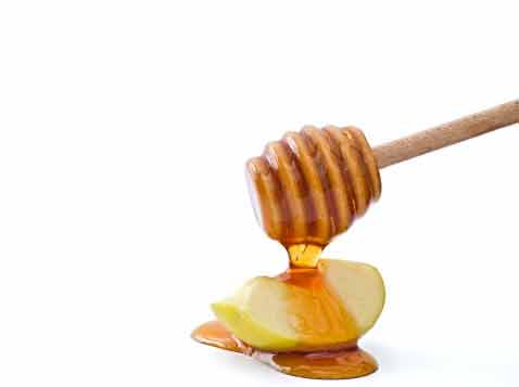 כפית דבש מעץ