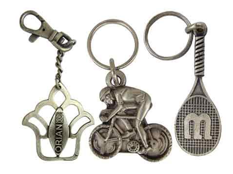 מחזיק מפתחות יציקה מיוחדת