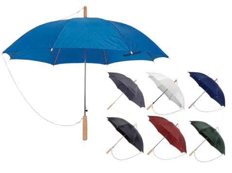 מטריה 23 סיומת עץ