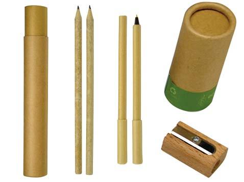 סט עפרונות ממוחזר