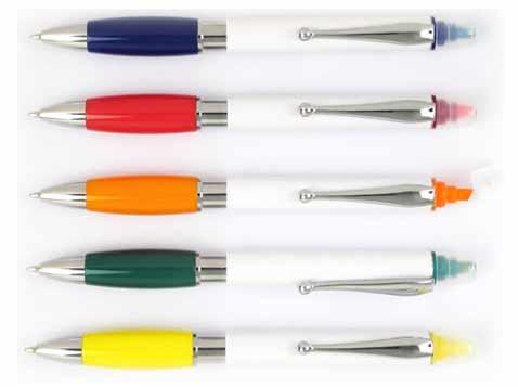 עט כדורי בשילוב מרקר