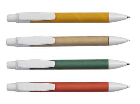 עט כדורי מקרטון ממוחזר