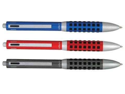 עט מתכתי 4 פונקציות
