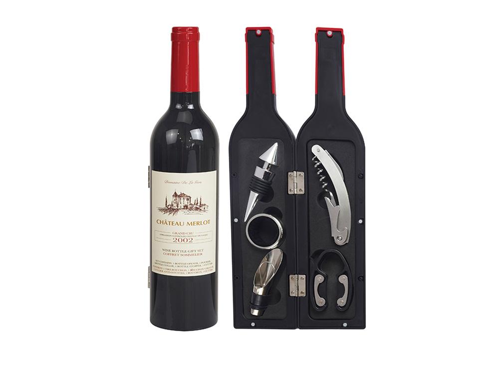 אביזרי יין בבקבוק 5 חלקים