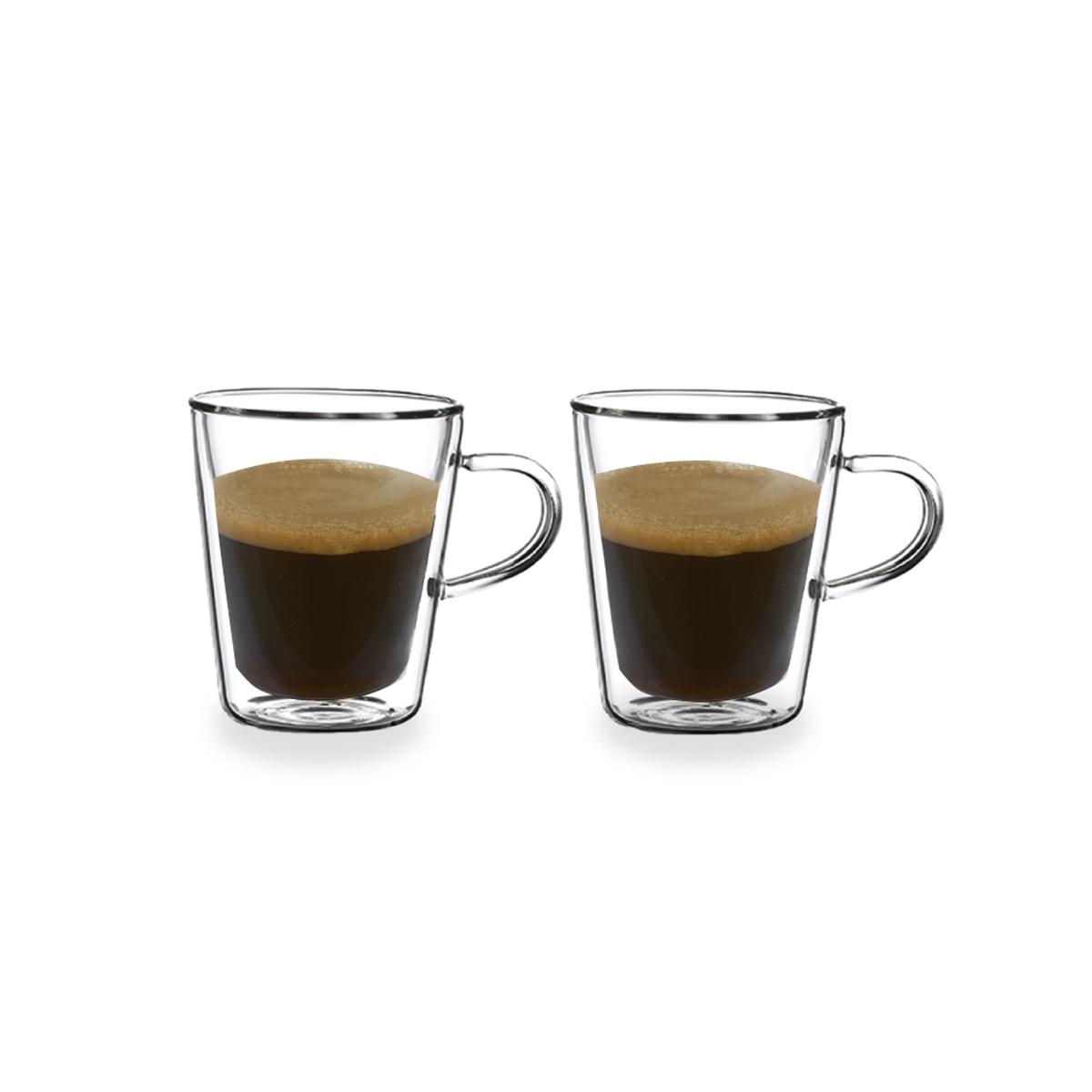 סט 2 כוסות אספרסו