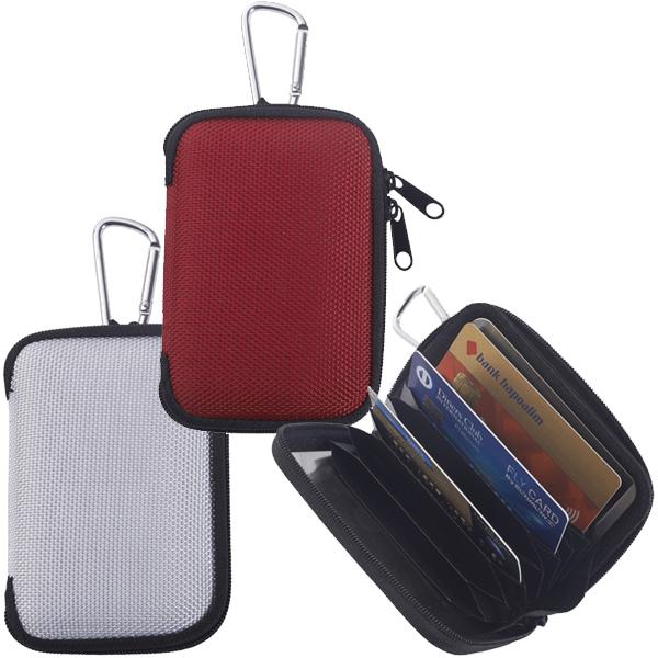 נרתיק לכרטיסי אשראי עם הגנה בפני העתקה