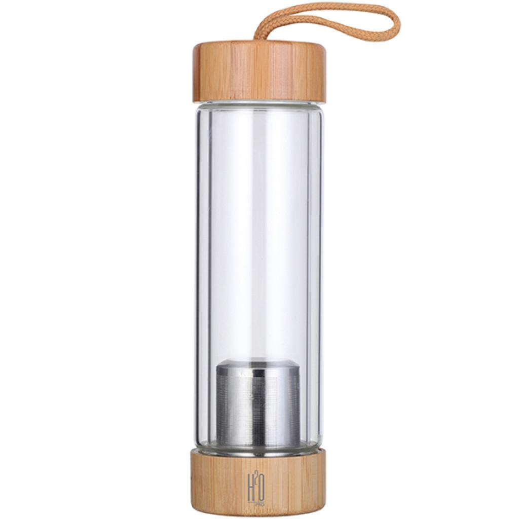 בקבוק זכוכית לחליטת תה