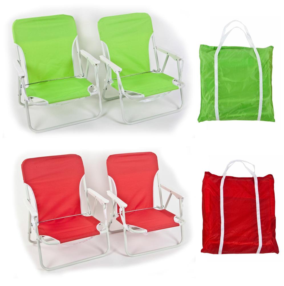 זוג כיסאות ים בתיק