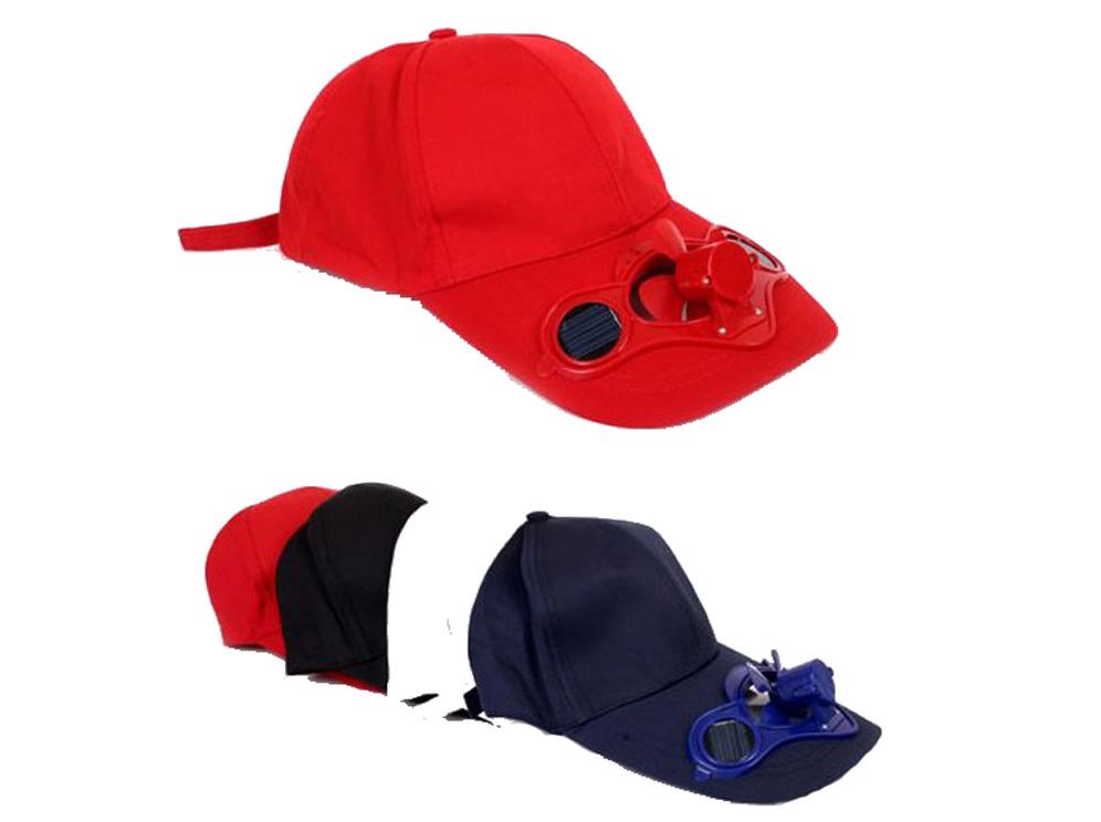 כובע מצחיה עם מאוורר