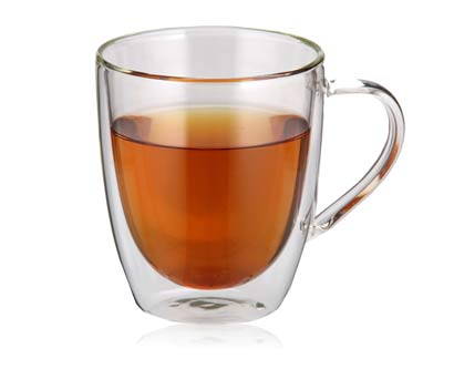 כוס זכוכית דופן כפולה