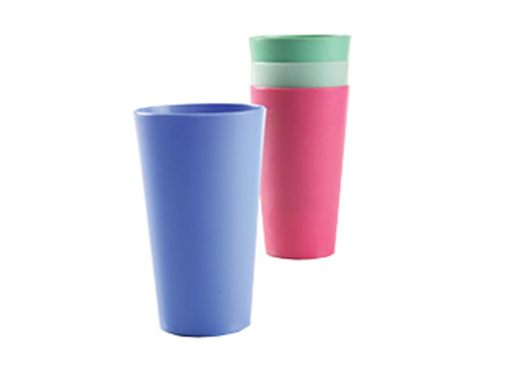 כוס פלסטיק צבעונית