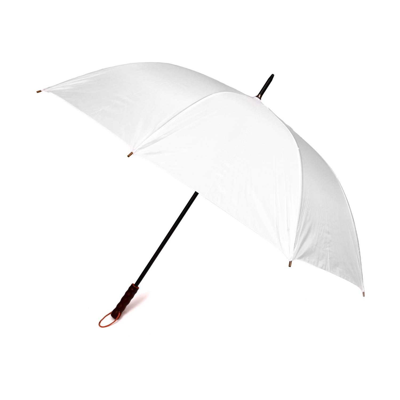 מטריה 27 אינץ' לבנה