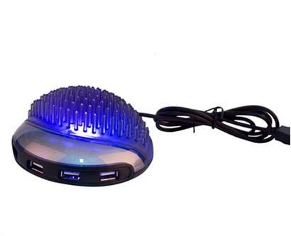 מפצל USB תאורת לד