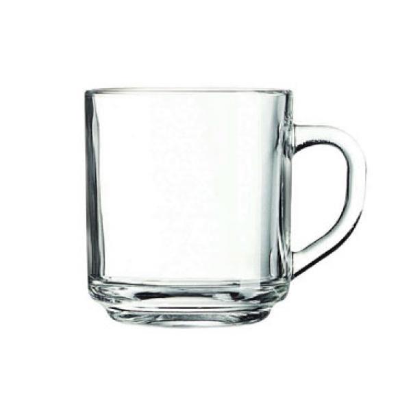 """ספל זכוכית 250 מ""""ל"""