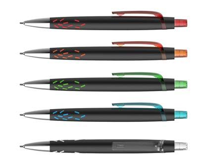 עט חוד מחט גראס שחור