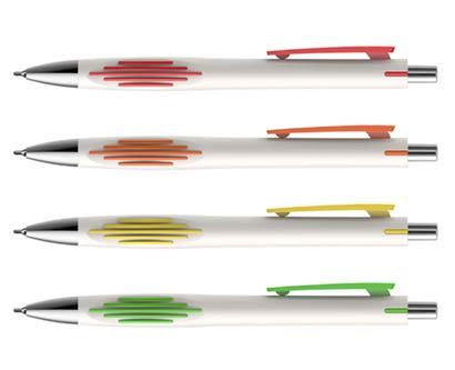 עט חוד מחט ווליום לבן