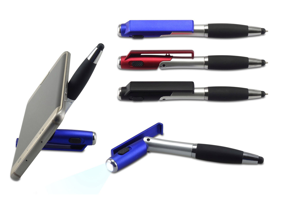 עט פנס מעמד לנייד+טאצ פנטזי