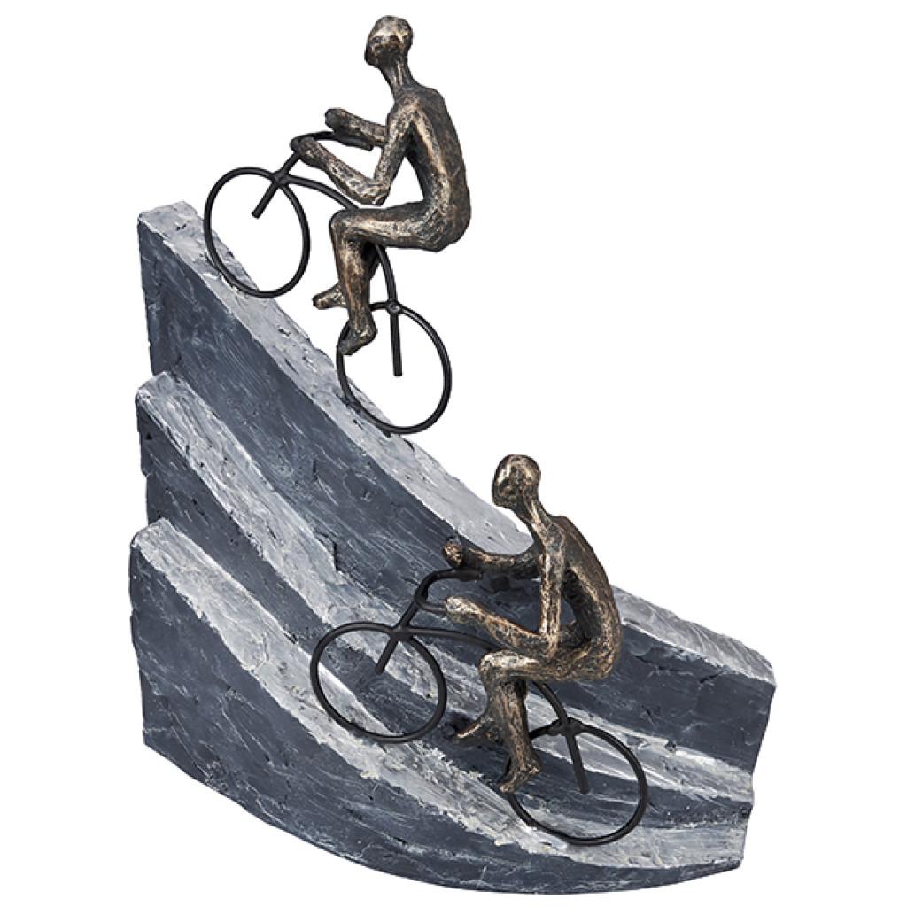 פסל מעוצב רוכבים אקסטרים