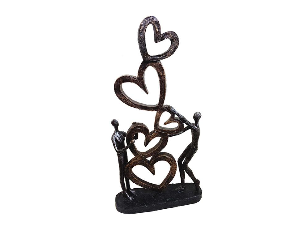 פסל מעוצב אהבה לנצח