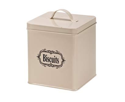קופסא לאחסון ביסקוויטים ועוגיות
