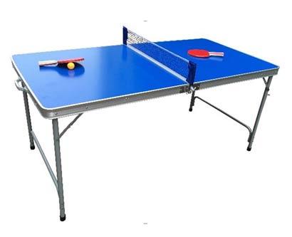 שולחן פינג פונג מתקפל