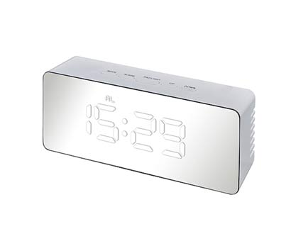 שעון שולחני דיגיטלי מראה